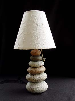 Small Cairn Lamp